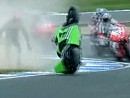 SBK 2011 - Donington Park (England) Race1 - Last Lap / Highlights