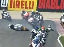 SBK 2011, Misano (Italien) Race 1 Highlights