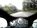 Motorradtour: Rondell Richtung Amorbach / Odenwald, Reifen anwärmen.