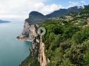 Schauderterrasse vom Gardasee durch die Brasa Schlucht