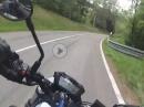 Schauinsland hoch mit Suzuki SV650