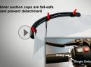 Rainpal: Scheibenwischer für Motorradhelm - clevere Idee oder?