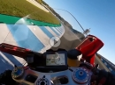 Schiebt brutal: Ducati Panigale V4 R onboard Jerez by Rivista Motociclismo