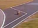 Schikane in Monza FALSCH von Biaggi durchfahren = Strafe!