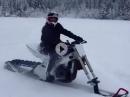 Schnee GSX-R geht mächtig vorwärts - Schneetreiben / Tiefschneeterror
