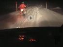 Schneetreiben - So ein bisschen Schnee sollte kein Hindernis sein!