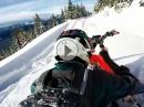 Schneetreiben mit Honda CR500 Timbersled Products