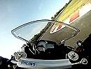 Schnelle Runde in Anneau du Rhin 1.20 mit Kawasaki ZX 6 von ASR