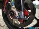 Schnellwechselanlage am Rennmotorrad GSXR Projekt von MotoTech