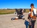 Schräglage I Wheelie I Pitbike - Trainings von race & fun.