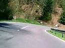 Schwarzwald Nähe Calw mit Suzuki Bandit 1250
