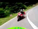 Schwarzwald Nähe Calw mit Yamaha R6 und Kawasaki ZX9R