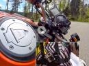 Schwarzwald schwindelig gucken! Gimbalisierter Ritt auf KTM 1290 Superduke von KurvenradiusTV