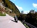 Schwarzwaldsurfen: Motorradtour mit zwei Honda SC33