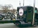 Schwermetall auf Schwermetall - Harley Transport im Boss Modus