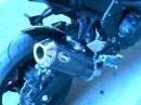 Scorpion Auspuffanlage an Kawasaki Z750