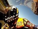 Scott Redding beim malochen MotoGP-Testfahrt Jerez 23.11.11 - Kalex Moto2