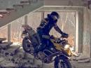 Sehr geil! BMW R1200GS Adventure Verwüstung / Desolation Häuserkampf