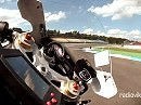 Gyro-CAM onboard in Hockenheim a la MotoGP Sehr geil!