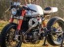 Sehr geil: Honda CX500 Cafe Racer Sacha Lakic Design. Hammer Umbau einer 'Güllepumpe'