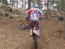 Seilhüpfen mit dem Motorrad - artgerechtes Workout