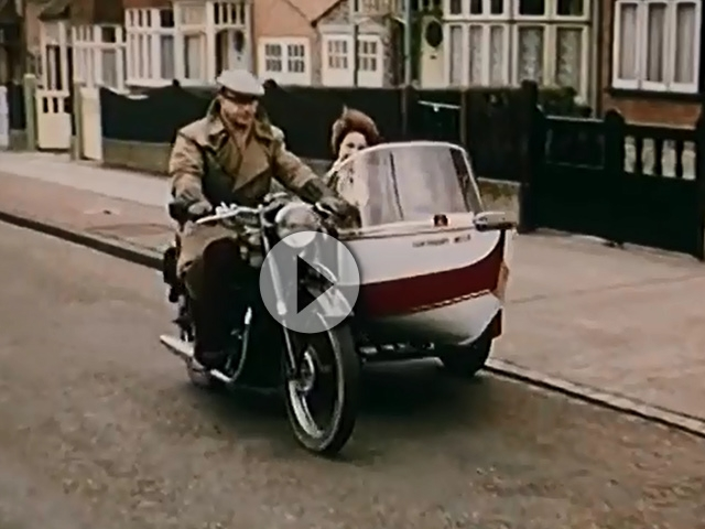 seitenwagen boot 1960 mein motorrad meine yacht. Black Bedroom Furniture Sets. Home Design Ideas