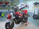 Selbstmontage: Suzuki GSX-R in 5 Minuten! Megageil Idee und Umsetzung: Hammer!
