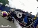 Selfie Helmet Dragging - Geil Masaru Abe - Banzai