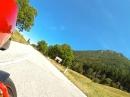 Sella Chianzutan (Italien), Rückseite von San Daniele nach Tolmezzo