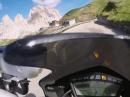 Sellajoch (Passo di Sella) mit Ducati Streetfighter S