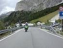 Sellajoch / Passo Sella (Italien) hoch. Von Pian de Gralba geht es vom Norden aus das Joch hoch