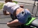 Sexy Motorrad Body Positioning / Körperhaltung für Beginner - so kann man es auch erklären!