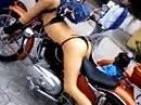 Sexy Motorrad Gespann - endlich mal einer mit Phantasie *lol*