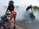 Sexy Stuntriding - Gummivernichtung und Knackarsch - es gibt Schlimmeres :-)