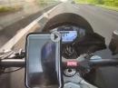Shapeheart Handyhalterung - 222km/h Test mit Magnethalterung, Autobahn- Hageltest Chain Brothers
