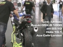 Showtime: Suzuki GSX-R1000 LIVE Umbau bei ACE Cafe am 03.10.