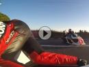 Sidecar onboard Southern100 - Gaskranke auf drei Rädern