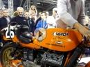 Sie brüllt: Laverda V6 1000ccm, 145PS Sound zum abknien