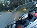Bergisches Land auf Gyro: Ninja ZX-10R vs Yamaha R6 by Murtanio