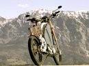 Sieht So die Zukunft aus? Mensch Maschine Hybridmotorrad eROCKIT