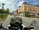Sightseeing Tour durch Kopenhagen (Dänemark) mit einer Honda CB 400
