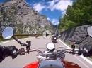 Zügig vom Bormio zum Stilfserjoch mit Ducati Monster
