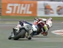 Silverstone Race 2 British Superbike (BSB) 2012 - Highlights