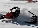 Schneetreiben: Skijöring Gosau 2008 Crosser ziehen Skifahrer und ballern um die Wette