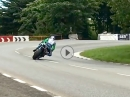 Sliding Hutchy - Hutchinson Mega Slide in Sulby Bridge TT2017