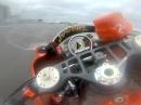 Slovakiaring onboard bei Regen. Murtanio Yamaha R6