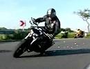 Slow Motion Suzuki TL 1000 / Honda VTR 1000