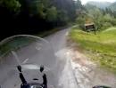 Slowenien: Bohinjsko sedlo Motorradtour von Petrovo Brdo nach Bohinjska Bistrica