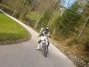 SMGS Supermoto Spring Hill Climb Austria (Husaberg FS 570 vs. FS 650)
