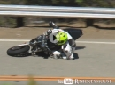 Snake Crash im Doppelpack: Ducati Monster & Suzuki SV650